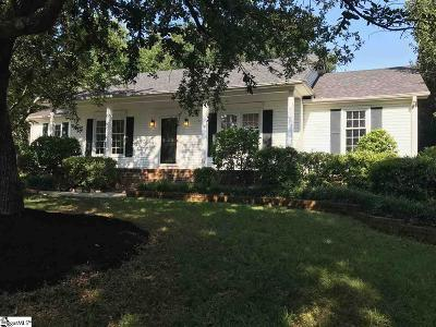Greenville County Single Family Home Contingency Contract: 106 Monmouth