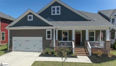 Greer Single Family Home For Sale: 102 Quail Creek #Lot 34