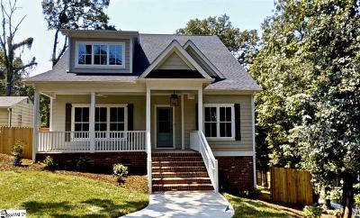 Greenville County Single Family Home For Sale: 518 W Faris