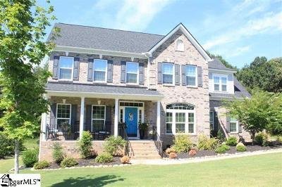Easley Single Family Home For Sale: 124 Wilshire