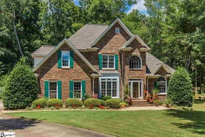 Spartanburg Single Family Home Contingency Contract: 138 Hawk Creek