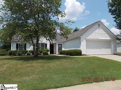 Simpsonville Single Family Home For Sale: 304 Revis Creek