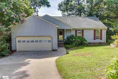 Greenville County Single Family Home For Sale: 208 Three Forks