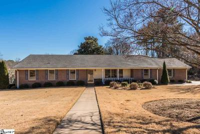Spartanburg Single Family Home For Sale: 342 Fairlane