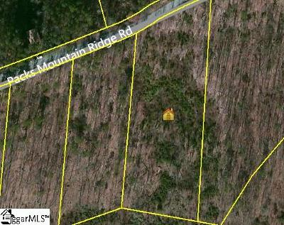 Taylors Residential Lots & Land For Sale: Packs Mtn Ridge
