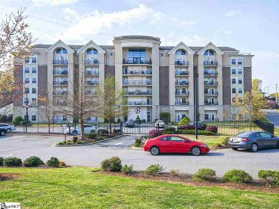 Greenville County Condo/Townhouse For Sale: 1001 S Church #Unit 607