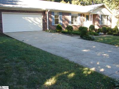 Greenville County Single Family Home Contingency Contract: 421 Rosebud
