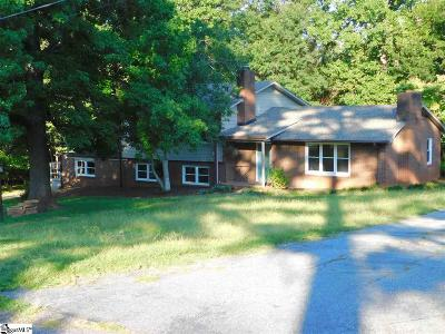 Spartanburg Single Family Home Contingency Contract: 132 Henson