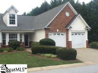 Simpsonville Condo/Townhouse For Sale: 9 Kennebec