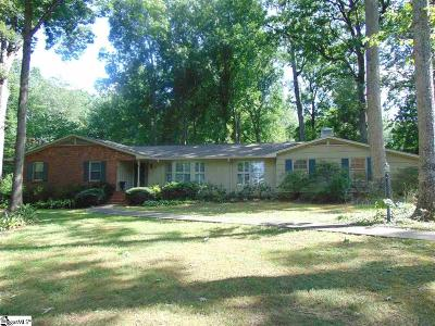 Greenville County Single Family Home Contingency Contract: 121 Providence Square