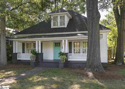 Greenville County Single Family Home For Sale: 221 Grove