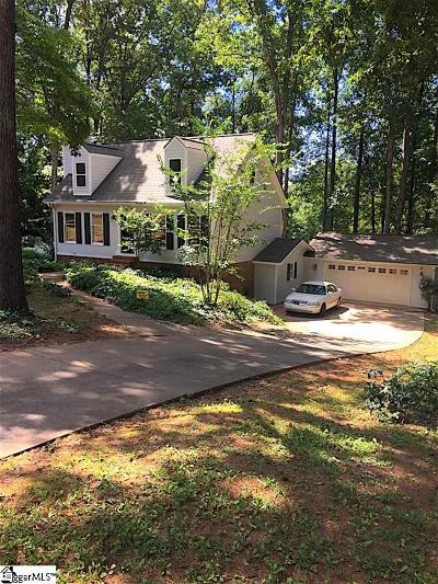 Inman Single Family Home Contingency Contract: 380 Hickory Hollow