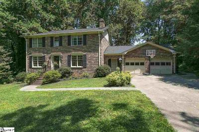 Greenville County Single Family Home Contingency Contract: 305 Providence Square