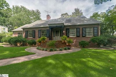 Greenville County Single Family Home For Sale: 54 W Avondale
