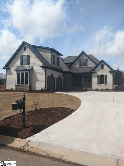 Greenville County Single Family Home Contingency Contract: 10 Meadow Reserve #Lot 12