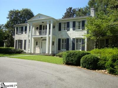 Spartanburg Single Family Home For Sale: 1031 Andrews Farm