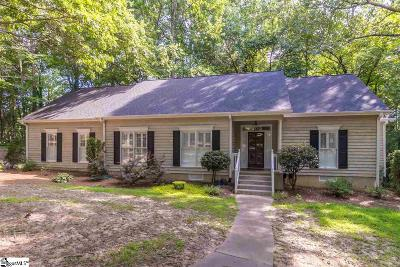 Greenville Single Family Home For Sale: 514 Huntington