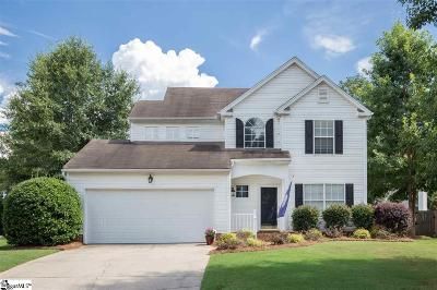 Simpsonville Single Family Home For Sale: 13 Ladybird
