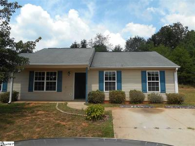 Greenville Single Family Home For Sale: 19 Backwater