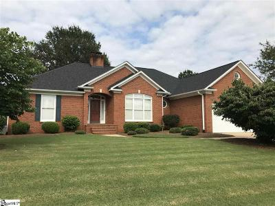 Greer Single Family Home For Sale: 231 Woods
