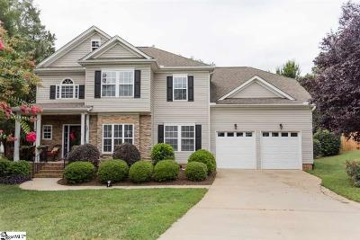 Greenville County Single Family Home For Sale: 9 Manorwood