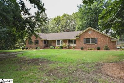 Greenville Single Family Home For Sale: 102 Bridgewater