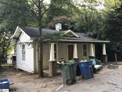 Greenville Single Family Home Contingency Contract: 7 Whitmire