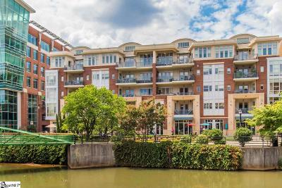 Greenville County Condo/Townhouse For Sale: 154 Riverplace #Unit 501