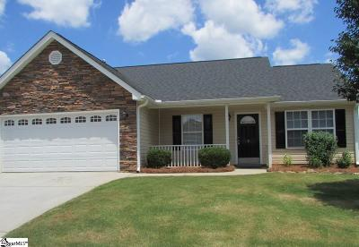 Greenville County Single Family Home Contingency Contract: 9 Granite Woods