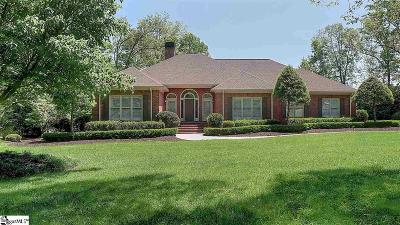 Anderson Single Family Home For Sale: 1002 Thornehill