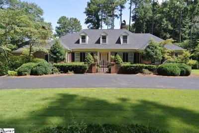 Spartanburg Single Family Home For Sale: 1111 Woodburn