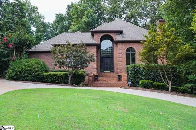 Spartanburg Single Family Home Contingency Contract: 1271 Shadowood