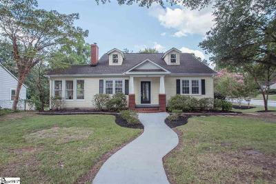 Greenville Single Family Home For Sale: 100 Wedgewood