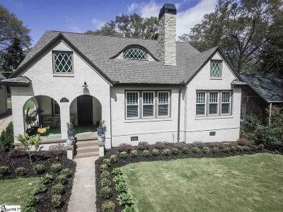 Greenville Single Family Home For Sale: 105 Tindal