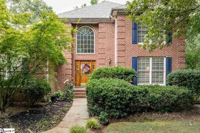 Simpsonville Single Family Home For Sale: 117 Belle