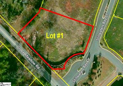 Taylors Residential Lots & Land For Sale: 928 Groce Meadow