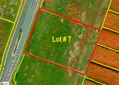 Taylors Residential Lots & Land Contingency Contract: 204 Stillwaters Bay