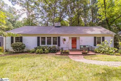 Greenville Single Family Home Contingency Contract: 220 Meyers