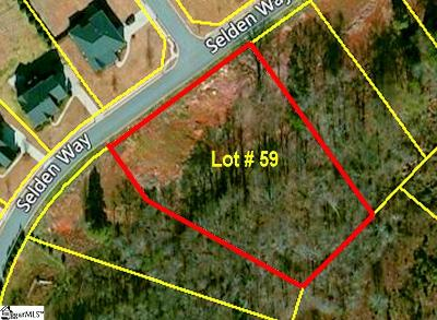 Fountain Inn Residential Lots & Land For Sale: 120 Selden