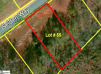 Fountain Inn Residential Lots & Land For Sale: 208 Selden