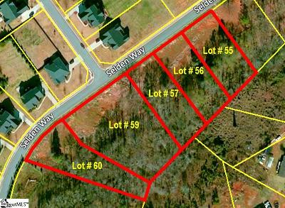 Fountain Inn Residential Lots & Land For Sale: Selden