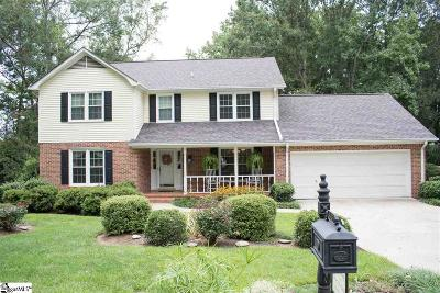 Greenville County Single Family Home Contingency Contract: 306 Hunting Hill