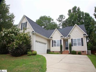 Greenville County Single Family Home For Sale: 202 Glenrise