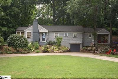 Greenville Single Family Home For Sale: 723 Bennett