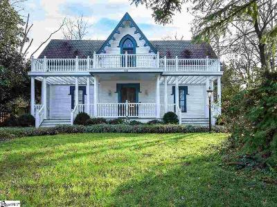 Greenville County Single Family Home For Sale: 522 Cleveland