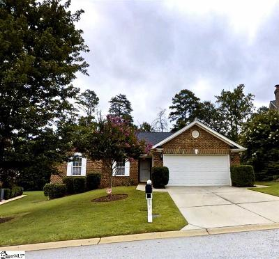 Greenville County Single Family Home For Sale: 23 Glenair