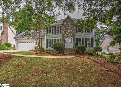 Greenville County Single Family Home Contingency Contract: 19 Bernwood