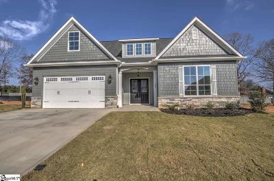 Greenville Single Family Home For Sale: 220 Round Stone