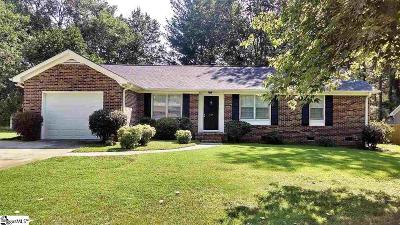 Greenville County Single Family Home For Sale: 109 Trenton