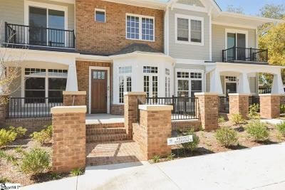 Greenville County Condo/Townhouse For Sale: 100 S Hudson #C18